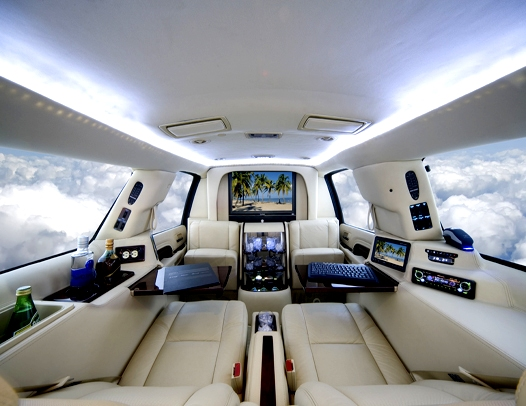 The Executive Mobile Office SUV by LimousinesWorld
